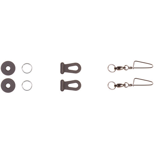OP/TECH USA Tiny Mighty Swivels System Connectors (Set of 2)