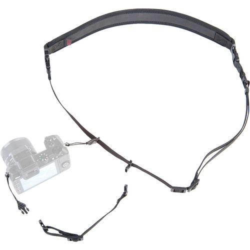 OP/TECH USA Mirrorless Sling with Mini-QD Extension (Black)
