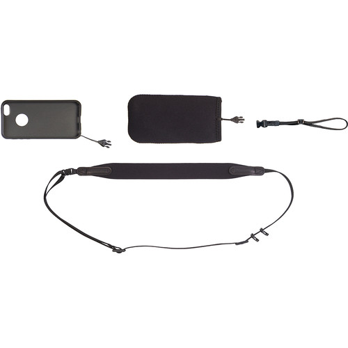 OP/TECH USA Smart Sling Cover Kit for iPhone 5/5s/SE (Black)