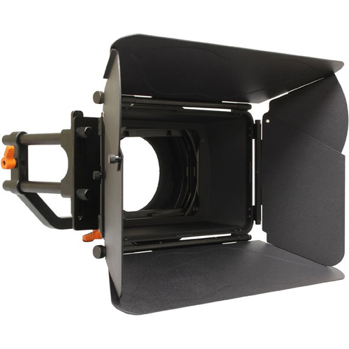 Opteka Professional Matte Box Kit for 15mm Rod Systems
