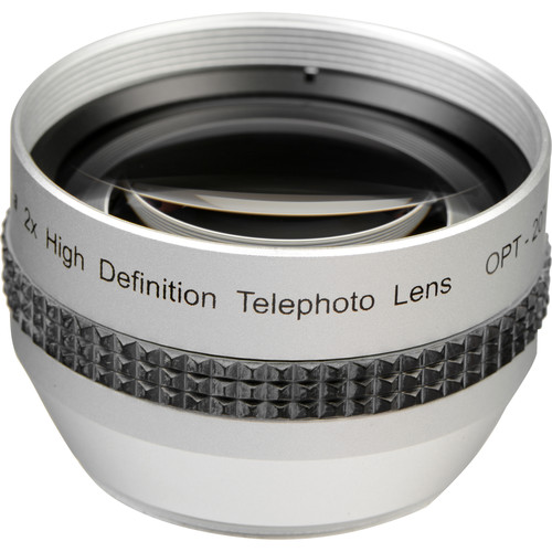 Opteka 37mm 2x High Definition II Telephoto Conversion Lens
