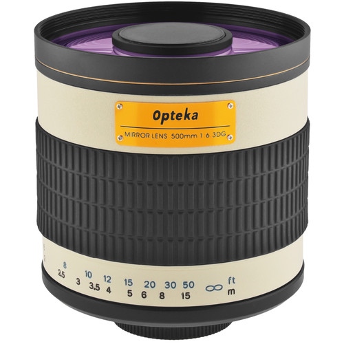 Opteka 500mm f/6.3 Mirror Lens for T Mount