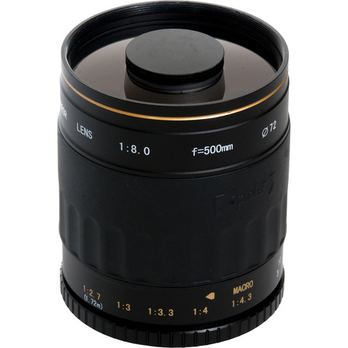 Opteka 500mm f/8 HD Telephoto Mirror Lens for T Mount