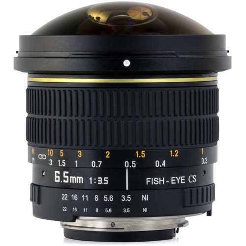 Opteka 6.5mm f/3.5 Circular Fisheye Lens for Nikon F