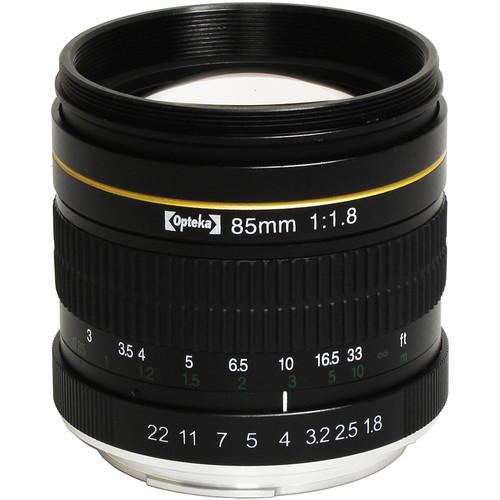 Opteka 85mm f/1.8 Lens for Nikon F