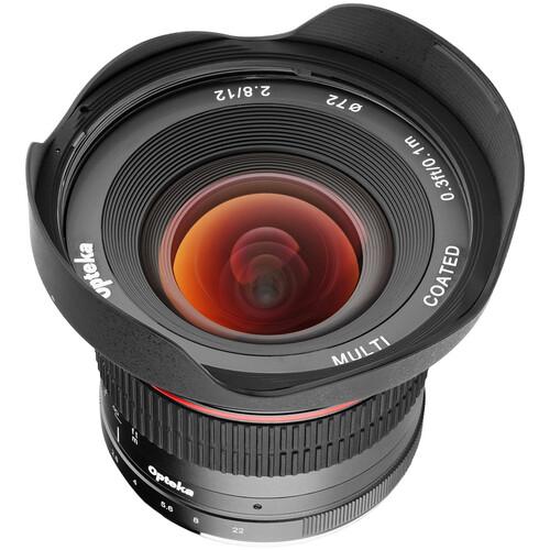 Opteka 12mm f/2.8 Lens for Sony E