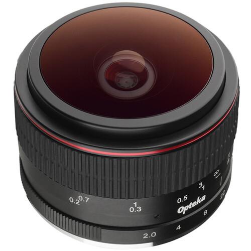 Opteka 6.5mm f/2 Circular Fisheye Lens for Fujifilm X