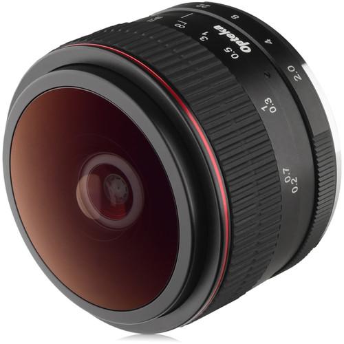 Opteka 6.5mm f/2 Circular Fisheye Lens for Micro Four Thirds