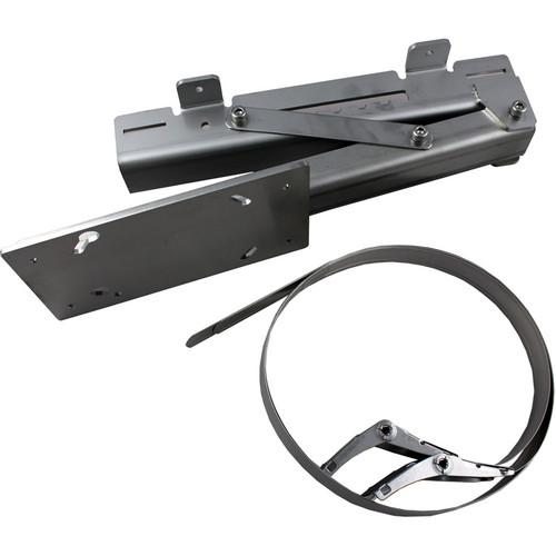 Optex Indoor/Outdoor Pole Mount Bracket for RLS-3060 & RLS-3060SH Laser Scan Detector
