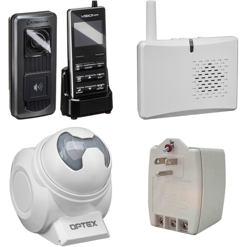 Optex Wireless Video Intercom and Motion Detection Kit