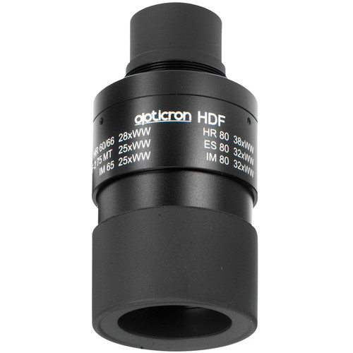 Opticron HDF Fixed Magnification Eyepiece for MM3 Spotting Scopes (18x for 50mm /123x for 60mm)