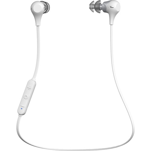 NuForce BE2 Bluetooth In-Ear Headphones (White)