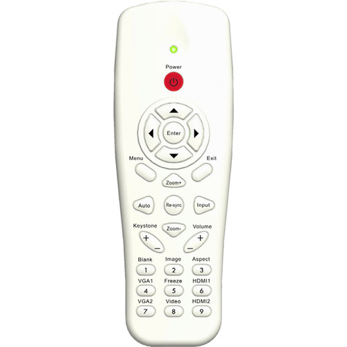 Optoma Technology BR-3080N Replacement Remote Control with Laser and Mouse Function