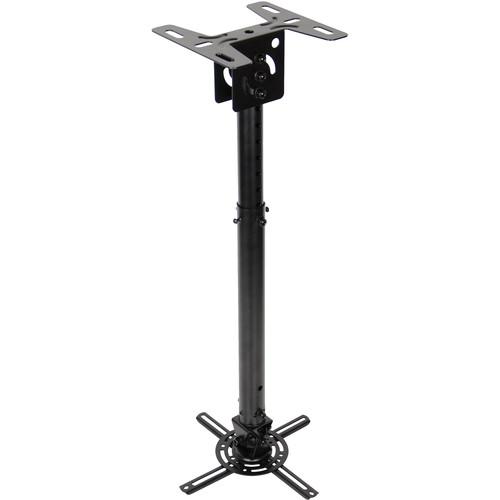 Optoma Technology Quick Adjusting Universal Projector Pole Mount (Black)