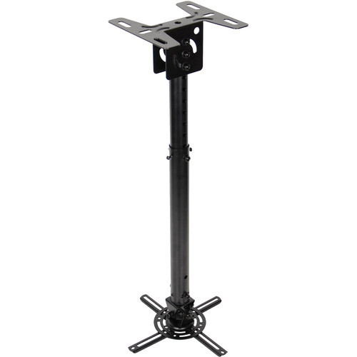 Optoma Technology Quick Adjusting Universal Projector Pole Mount (Black)