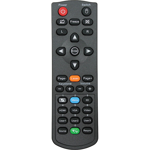 Optoma Technology SP.70103GC01 Remote Control