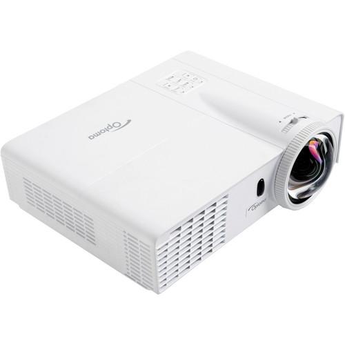 Optoma Technology W305ST 3200 Lumen WXGA 3D-Ready Short Throw DLP Projector