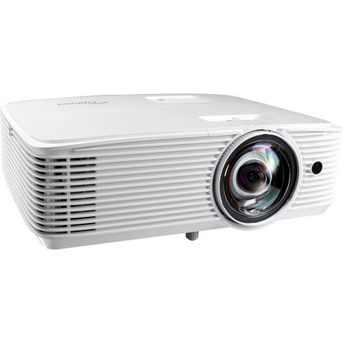 Optoma Technology X318ST 3300-Lumen XGA Short-Throw DLP Projector
