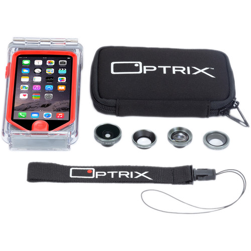 Optrix by Body Glove Pro 4-Lens Kit for iPhone 5/5s/SE