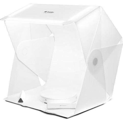 "ORANGEMONKIE Foldio3 25"" Mini Studio, Halo Bar, and Smart Turntable Kit"