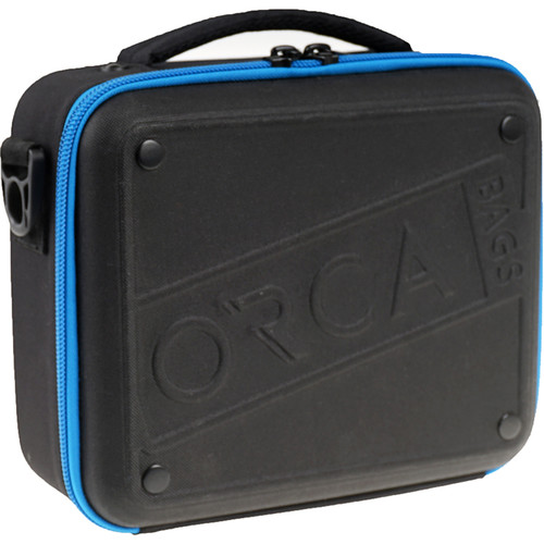 ORCA Hard Shell Accessories Bag (Small, Black)