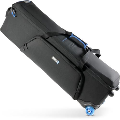 ORCA OR- 73 Wheeled Tripod Bag (Small, Black)