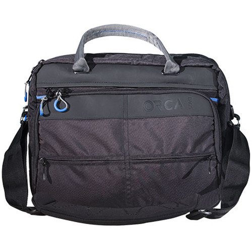ORCA Shoulder Laptop Bag (Black)