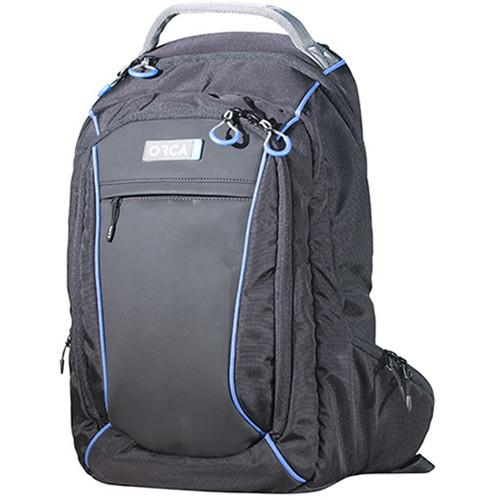 "ORCA OR-82 Backpack for 15"" Laptop / 10"" Tablet (Black)"