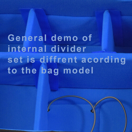 ORCA Set of Internal Dividers for OR-68 Bag