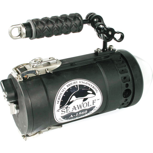 Orcalight SeaWolf 1560 22,000-Lumen Handheld Dive Torch (60-Deg Optic)