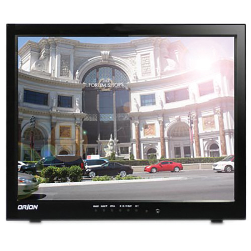 """Orion Images 15RTCSR 15"""" LCD CCTV Monitor with Transreflective Screen (Black)"""