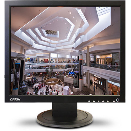 """Orion Images 17RCA 17"""" Economy Series CCTV LCD Monitor (Black)"""