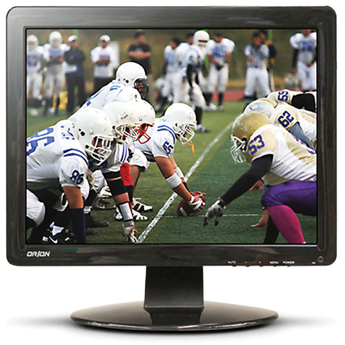 """Orion Images Economy Series 17"""" Rack-Mountable LCD CCTV Monitor"""