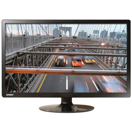 "Orion Images Economy Wide Series 23.6"" Rack-Mountable LED CCTV Monitor"