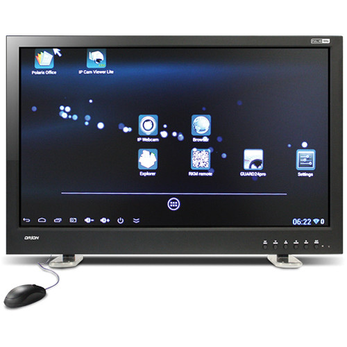 "Orion Images 32IREDP 32"" Full 1080 HD Wi-Fi IP LED Back-Lit CCTV Display Monitor (Black)"