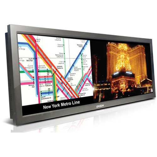 """Orion Images 42BLHB 42"""" Wide View Panorama Bar LED Monitor with High Brightness (Black)"""