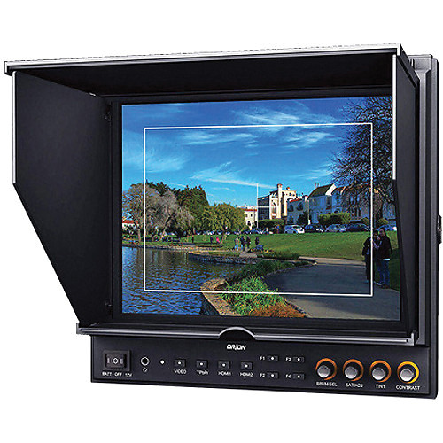 """Orion Images VF972HC 9.7"""" LED HDMI On-Camera/Field Monitor (LP-E6, F970)"""