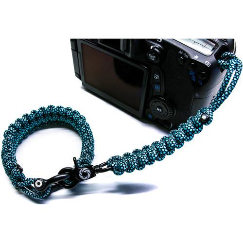 OSIRIS & CO. The Original Complete Camera Strap System (Small / Blue Diamond)