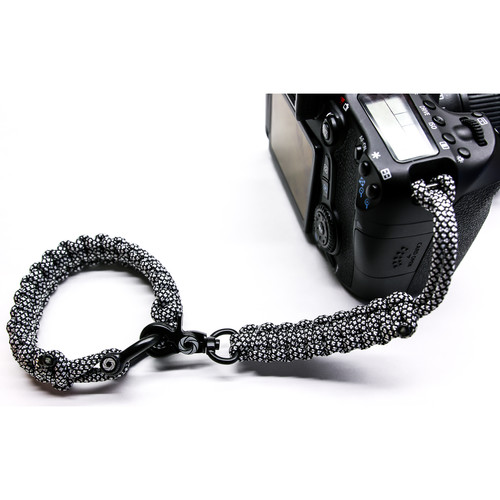 OSIRIS & CO. Complete System Woven Bracelet and Clip for Camera (Large, Diamond)