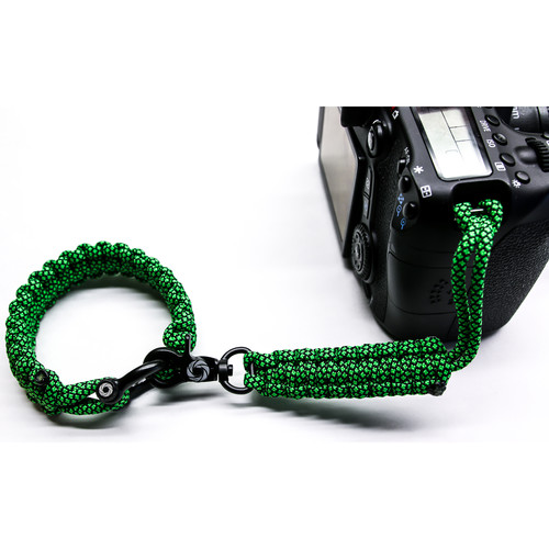 OSIRIS & CO. The Original Complete Camera Strap System (Large / Green Diamond)
