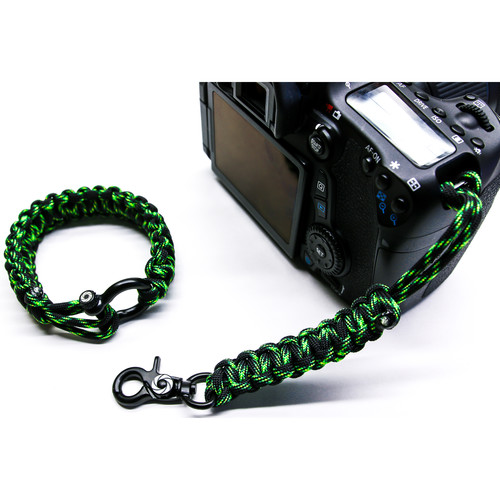 OSIRIS & CO. Complete System Woven Bracelet and Clip for Camera (Small, Poison)