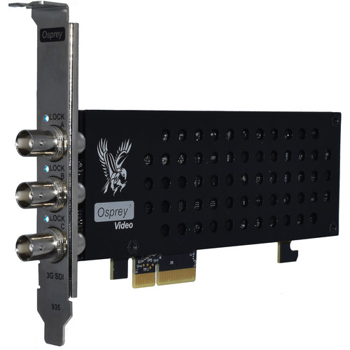 Osprey 935 PCIe Capture Card with Triple 3G-SDI