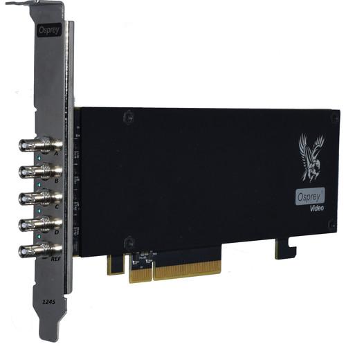 Osprey 1245 PCIe Card with Quad 12G-SDI/Genlok