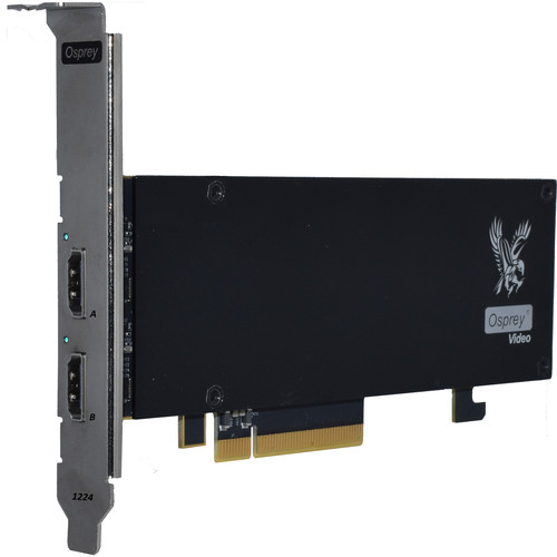 Osprey 1224 PCIe Capture Card with Dual HDMI 2.0 4K60