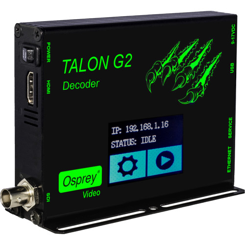 Osprey Talon G2 H.264 Decoder (SDI, HDMI)