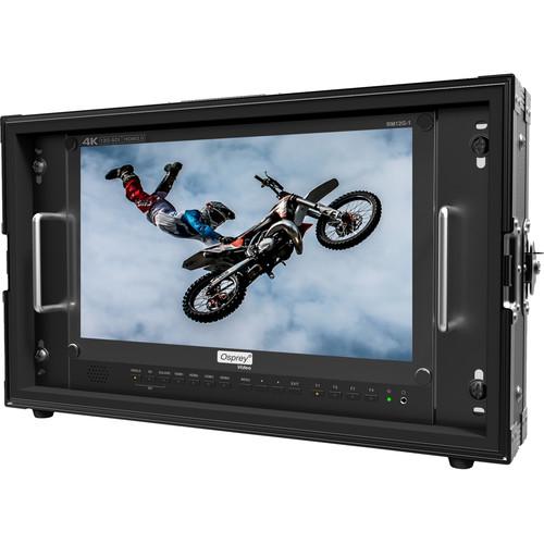"""Osprey 15.6"""" 4K Monitor 12G SDI, HDMI 2.0 19"""""""