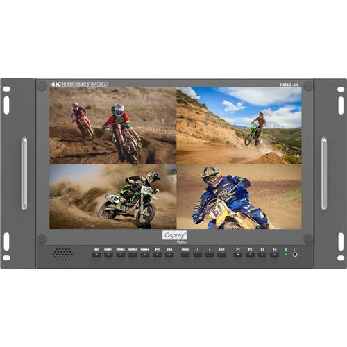 """Osprey 15.6"""" 4K Monitor 3G SDI, HDMI 2.0"""