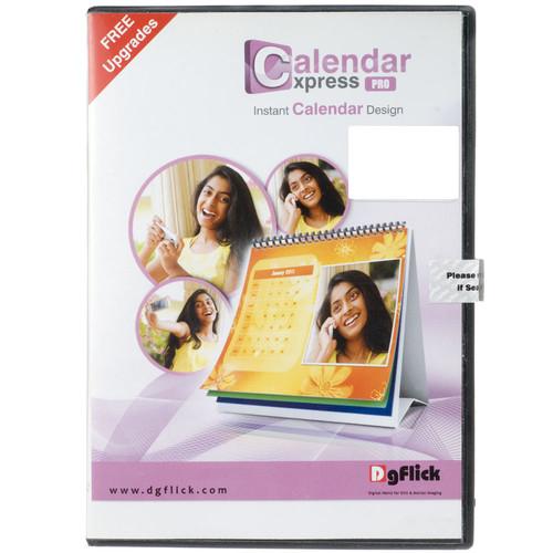 Other Brand DG Flick Express Calander Express Pro: Instant Calendar Design