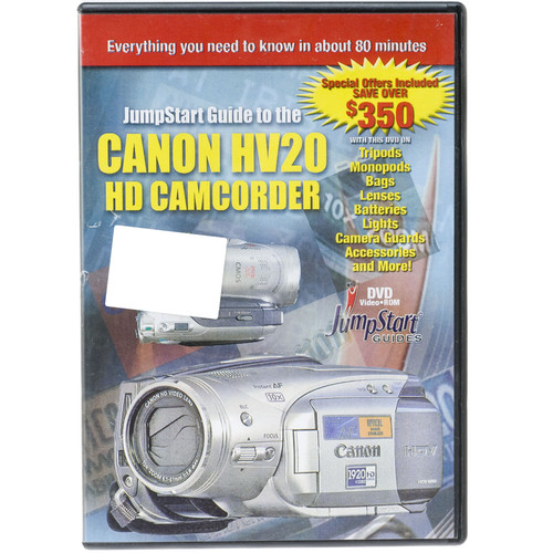Other Brand DVD: Jumpstart Guide for the Canon HV20 HD Camcorder