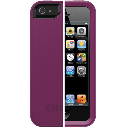 Otter Box Prefix Series Case for iPhone 5 (Thistle - Pop Purple / Black)